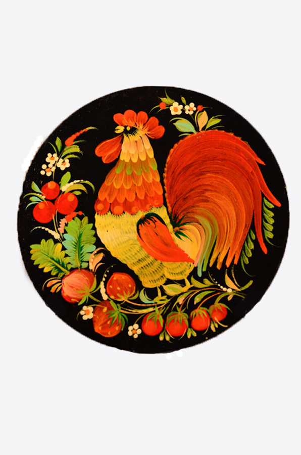 "Wall plate ""Chicken"""