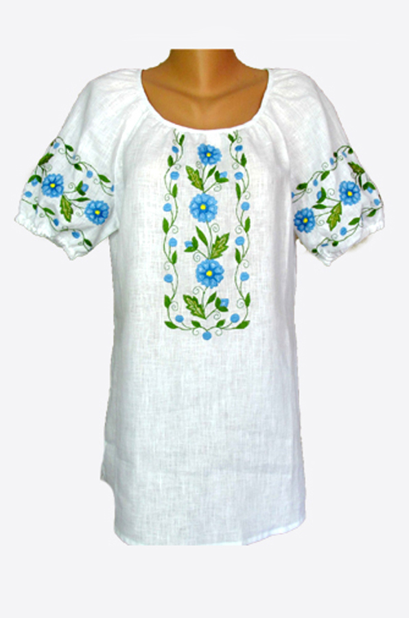 """Embroidered blouse women """"Marguerites"""""""