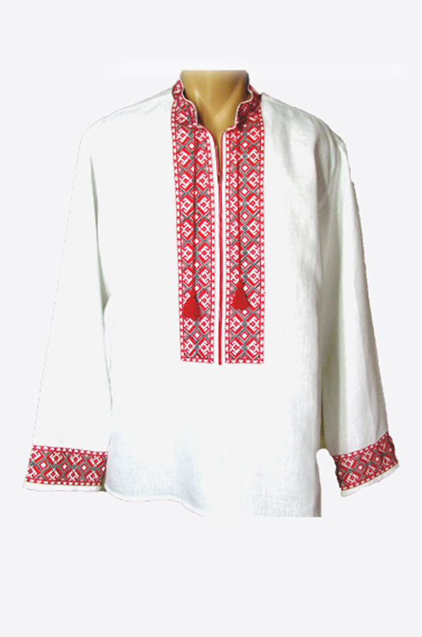 "Embroidered shirt men ""Vodograi"""