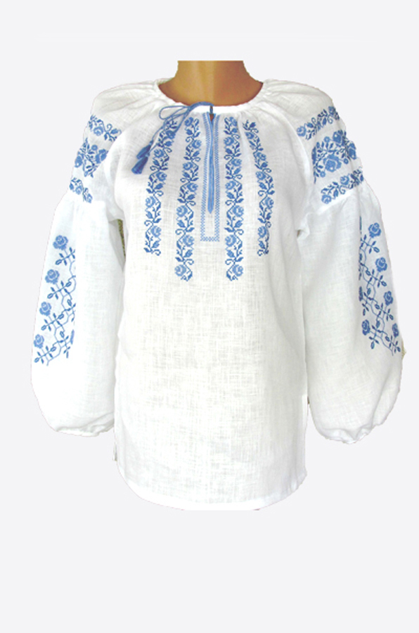 "Embroidered blouse women ""Rose"""