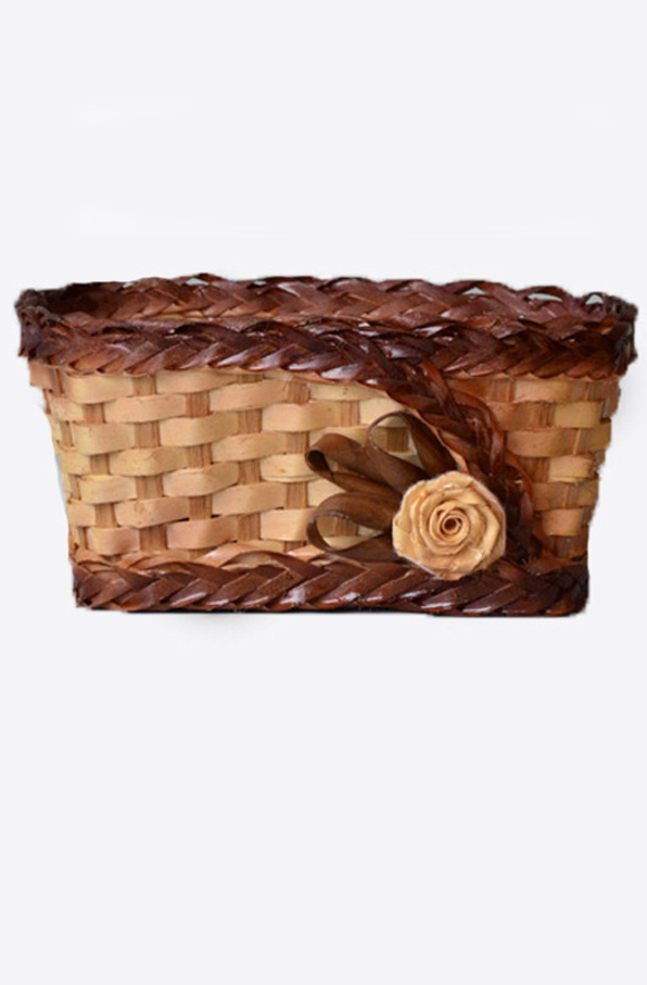 Wicker treasure-box