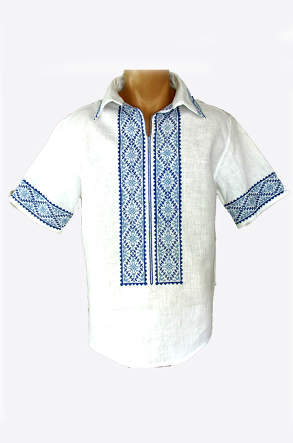 "Embroidered shirt men ""Spring"""