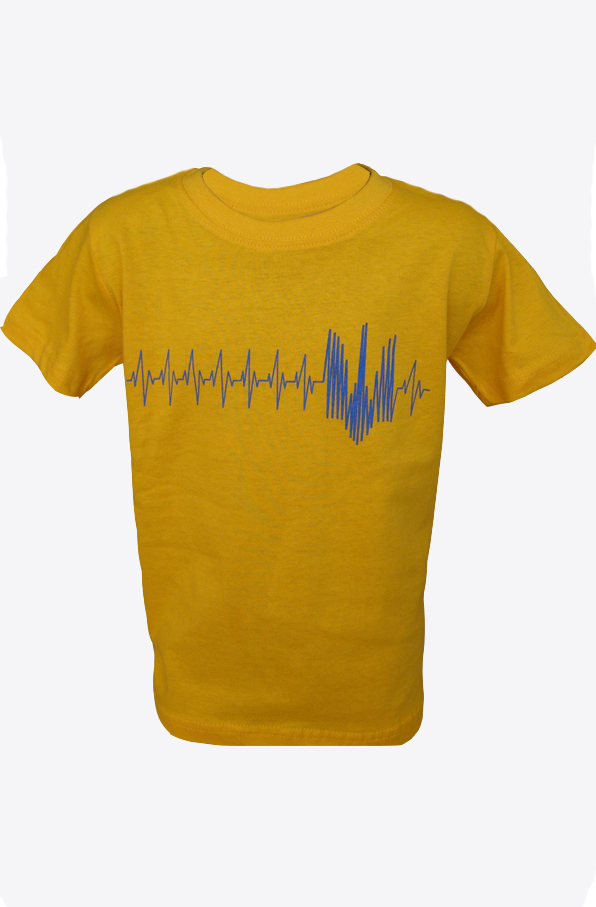 "Shirts for children ""Pulse"" yellow"