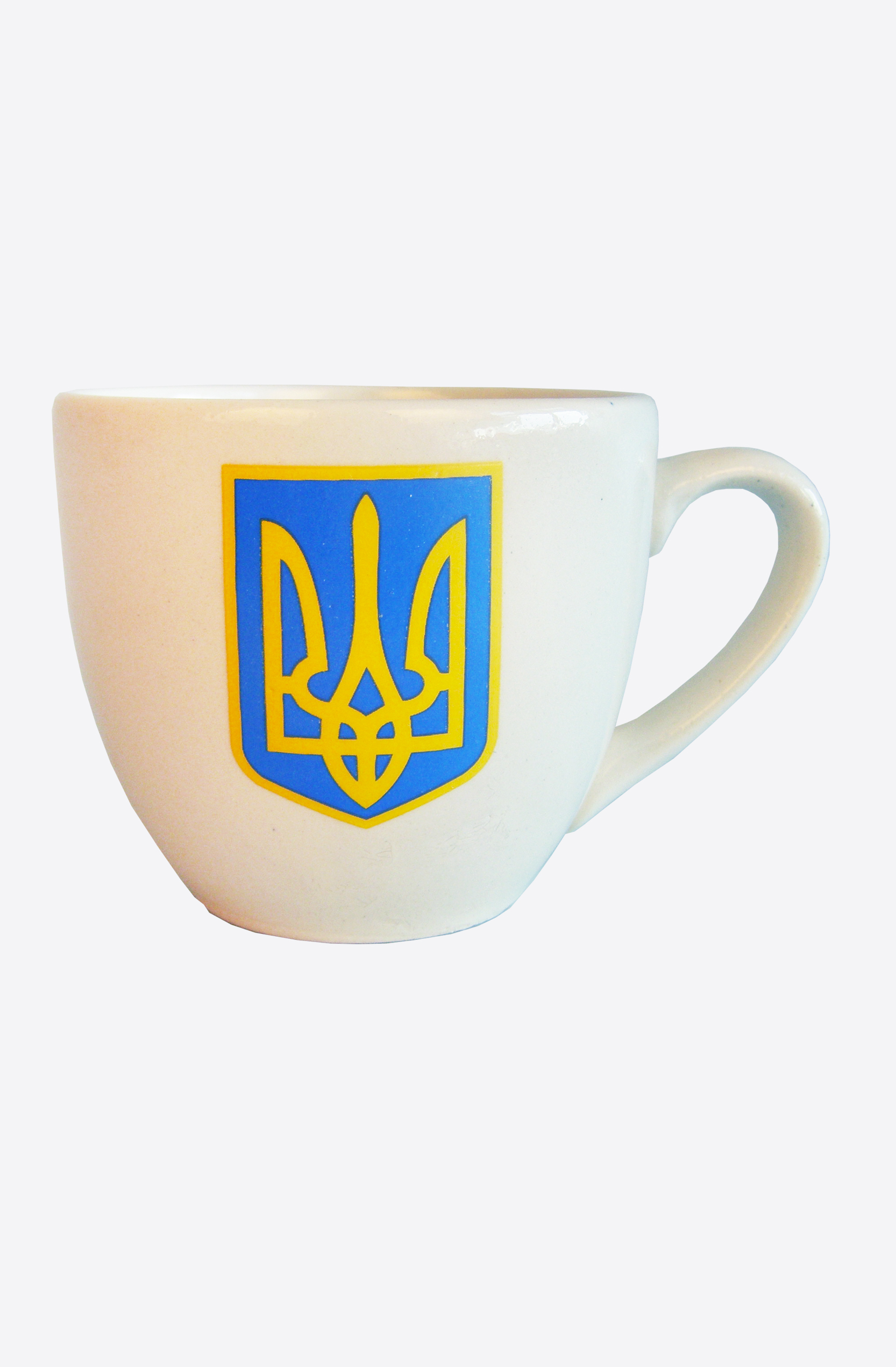"Ceramic Cup beige ""Coat of Arms"""