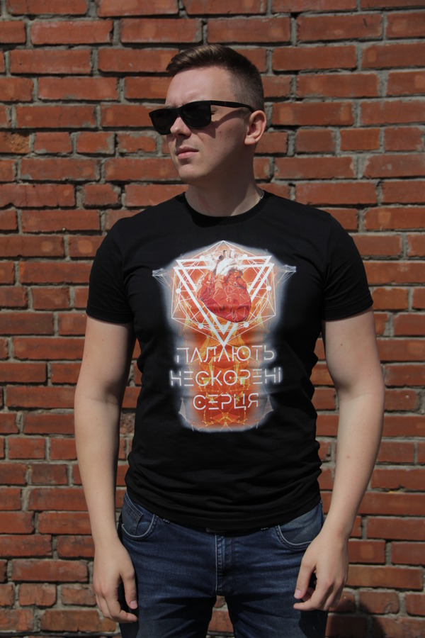 "T-shirt ""Burning Endless Hearts"""