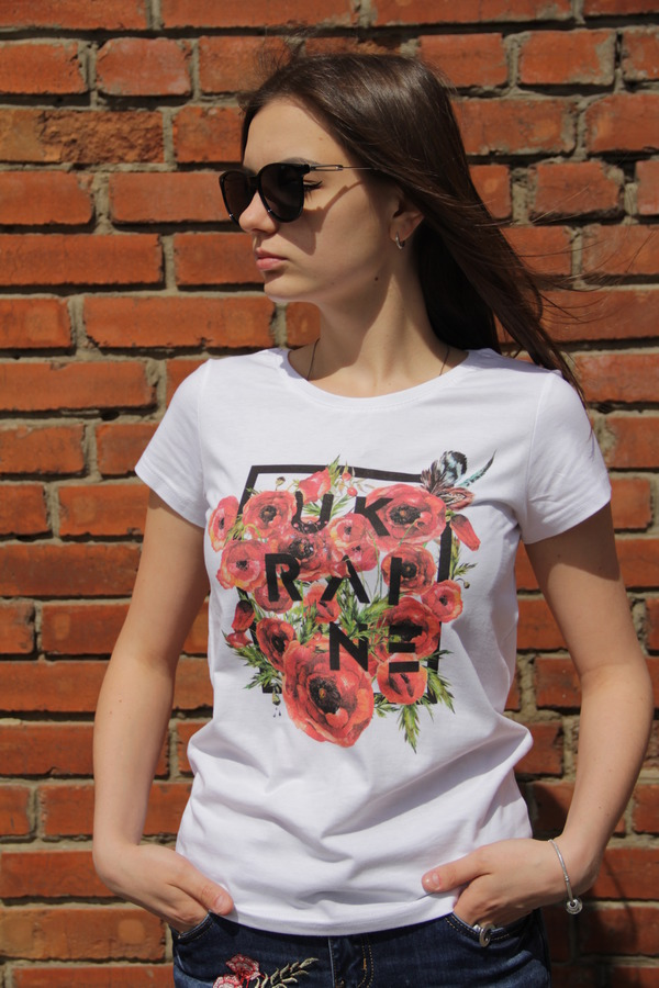 "T-shirt ""Poppies"""